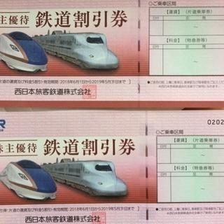 【5/31購入期限】JR西日本・株主優待券(新幹線などのチケット...
