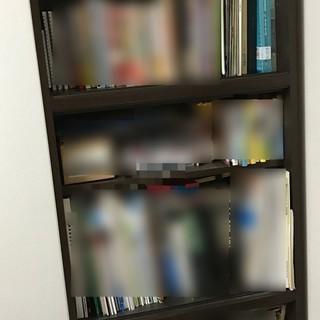 【3段式本棚】長期間使用していますので無料でお譲りします。