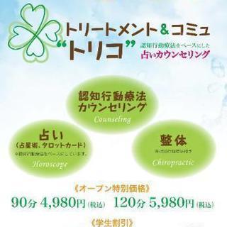認知行動療法をベースにしたカウンセリングと整体が3980円で受け...