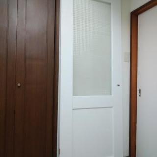 リクシル室内ドア(チェッカーガラス)