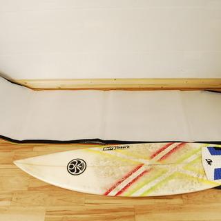 9257 Kerry Tokoro サーフボード 6'1 フィン ...
