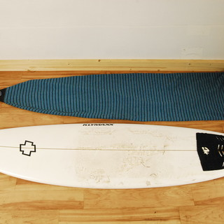 9259 KLYMAXX サーフボード 196cm ケース付 アントレ