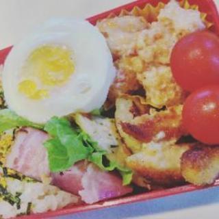 【☆cooking教室第1回】☆10分で作れるお弁当&パン