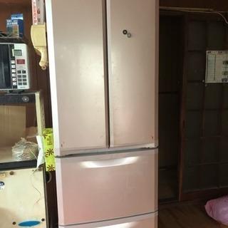 お値下げします。三菱ノンフロン冷凍冷蔵庫400リットル