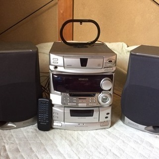 KENWOOD CD MD カセットコンポ