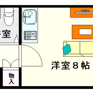 【クローバーメゾン戎】12号タイプ!1Rタイプ!明るい南向き☆