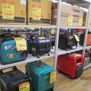 【ハンズクラフト宜野湾店】発電機各種お買取りおこなっております‼
