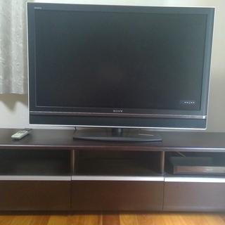 SONY ブラビア 46型テレビ & 大型テレビ台 お譲りします。