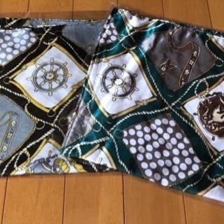 スカーフ① 2枚 (新品、未使用)
