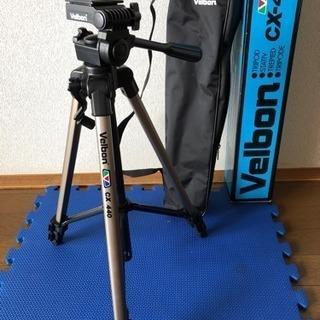 カメラ三脚 velbon CX-440 未使用 取りに来れる人優先