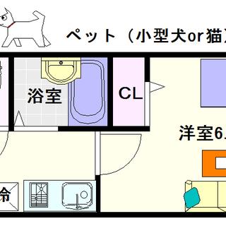 【ウィンヒルズ難波西】1号タイプ!1Kタイプ!ペットと楽しい生活☆