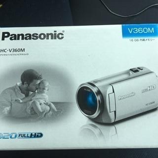 新品未使用!Panasonic ビデオカメラ HC HC-V3...