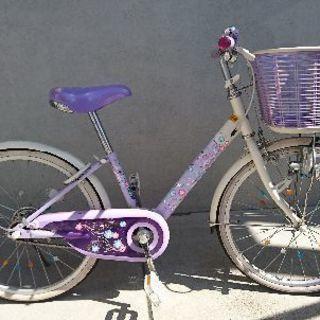 女の子用 自転車(20インチ)