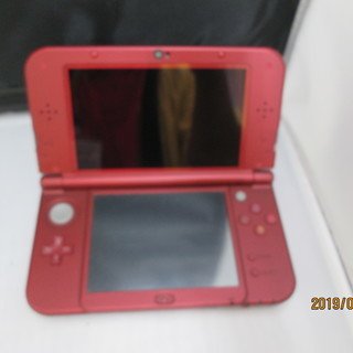 任天堂 3DSLL メタリックレッド 本体のみ RED-001