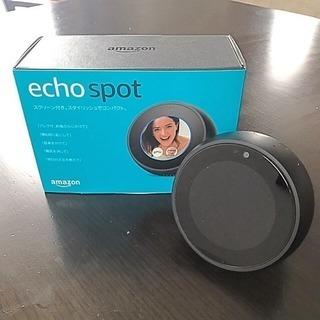 アマゾン エコースポット amazon echo spot  液...