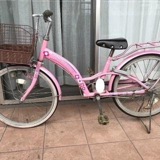 女の子 子供自転車 20インチ