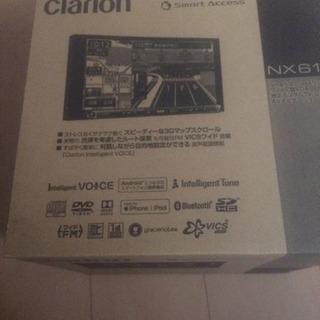 新品 clarion  NX618デジタルTV/DVD/SD AV