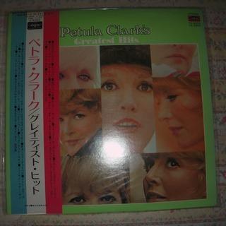 レコード LP ペトラ・クラーク