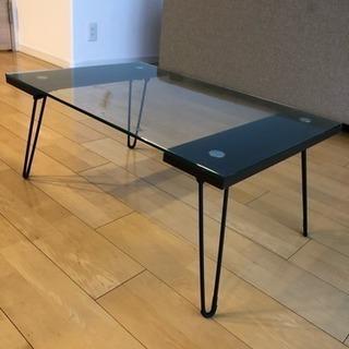 折りたたみ式のコーヒーテーブル【フランフラン】