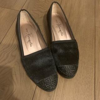 GINZA Kanematsu 銀座 かねまつ バレエシューズ 靴