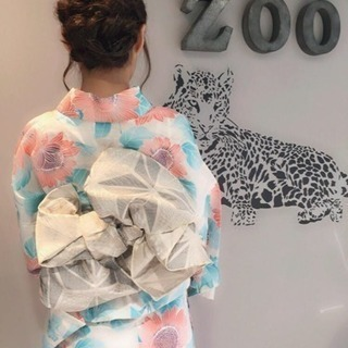 浴衣着付1000円