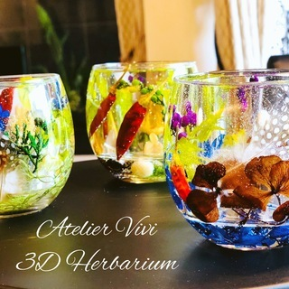 Atelier Vivi  3Dハーバリウムレッスン