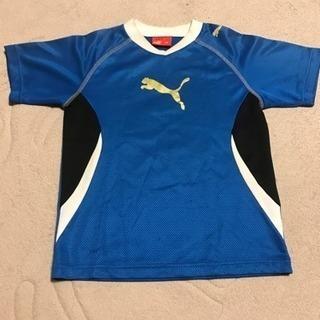 プーマジュニア用130cm半袖トレーニングシャツ