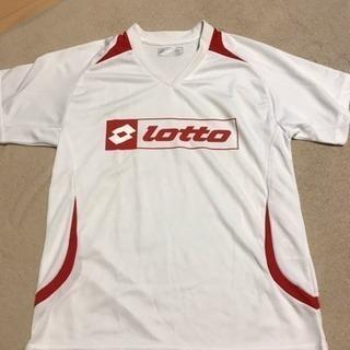 Lottoジュニア用140cm半袖トレーニングシャツ②
