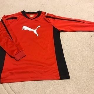 130cm サッカー用プーマ長袖トレーニングシャツ