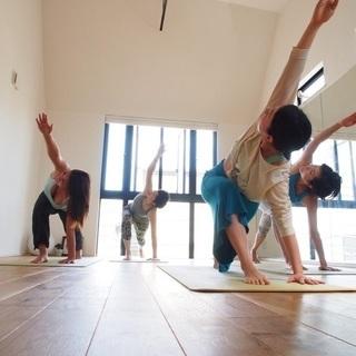 セロトニン効果で健康増進!日曜、朝のヨガ教室
