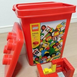 レゴブロック 基本セット 赤いバケツ