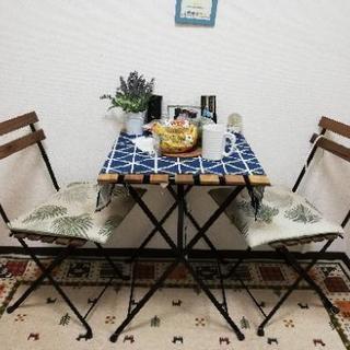 IKEAガーデンテーブルセット