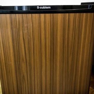 S-cubism 1ドア冷蔵庫 46L 2017年製