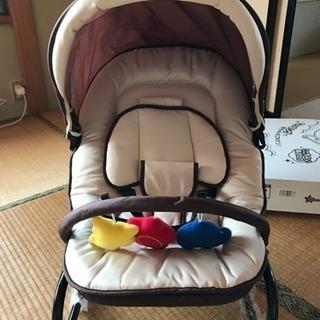 赤ちゃん用リクライニングシートほぼ新品
