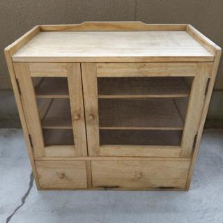 大工さんに作って貰った木箱