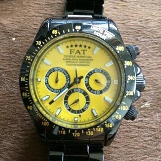 FAT6周年モデルクロノグラフ腕時計稼動品