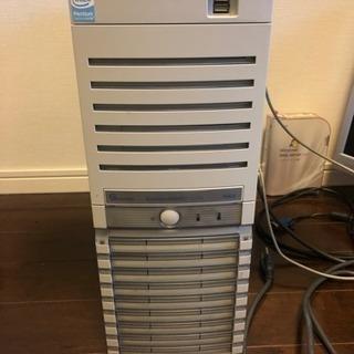 モニタ デスクトップPC OSメディア 一式