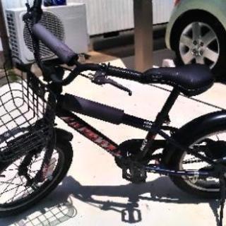 子供用 自転車 デューリー16インチブラック