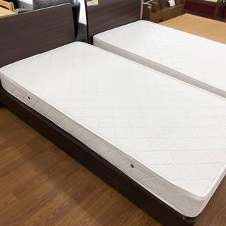 CHERRYのマットレス付シングルベッドです。【トレファク藤沢店】