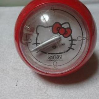 キティ 赤い 時計