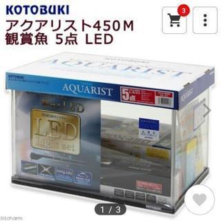 交渉中 アクアリウム 45cm 水槽 LED テラリウム フルセット
