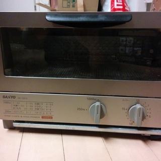 サンヨーのオーブントースター