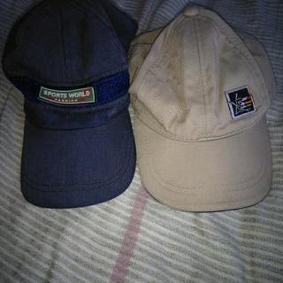 小学生用 キャップ 帽子 2点
