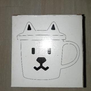 ソフトバンク お父さん犬 蓋付きマグカップ