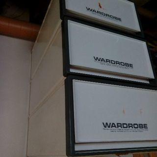 押入れ収納ケース WARDROBE 3個セット