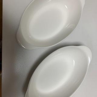 グラタン皿 2枚 譲ります