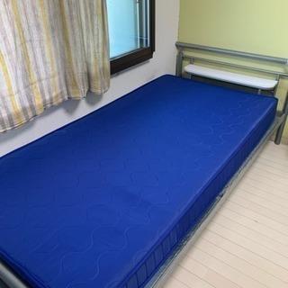 シングルベッド マットレス付き