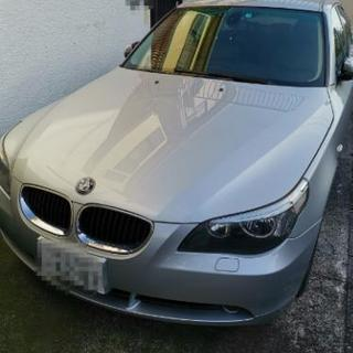 諸々込で50万!! 車検1年残! 低走行ディーラー車BMW525i