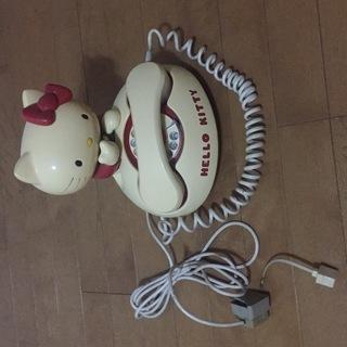 キティちゃん形電話機(アナログ)