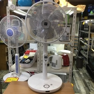 #2324 シャープ プラズマクラスター扇風機 PJ-F3DS-...